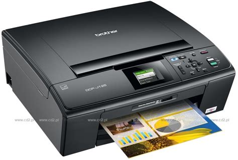 dcp j125 zarządzanie drukiem centrum druku brother dcp j125