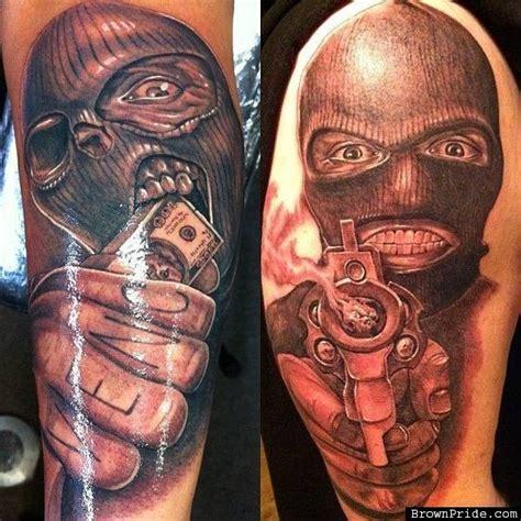 ski mask tattoo by placaso tattos pinterest mask