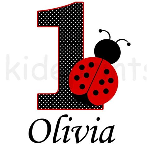 free printable birthday iron on transfers printable red ladybug birthday iron on transfer by