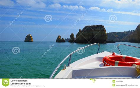 boat cruise price in lagos boating on the algarve royalty free stock photos image