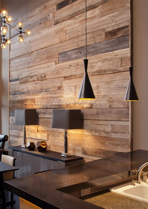 feature wall reclaimed feature wall madera