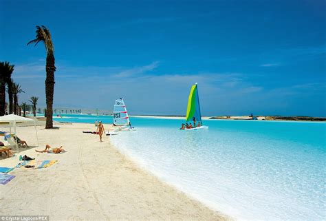 largest beach in the world the man made crystal lagoons beaches that rival mother