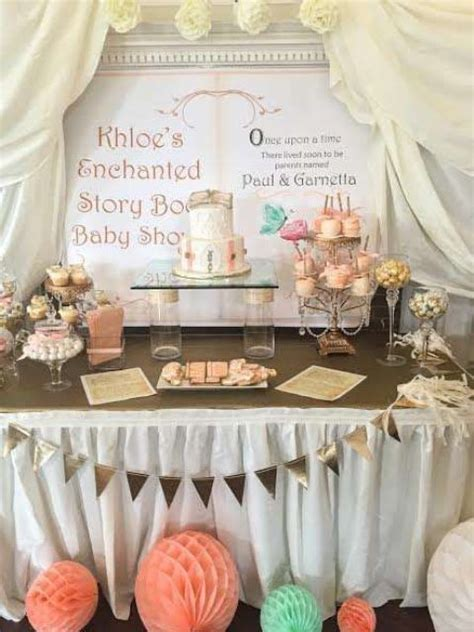 baby shower decor ideas for tables 31 baby shower dessert table d 233 cor ideas digsdigs