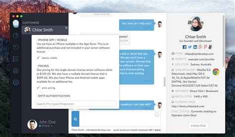 apple live chat mac and linux beta app program chatstack blog live