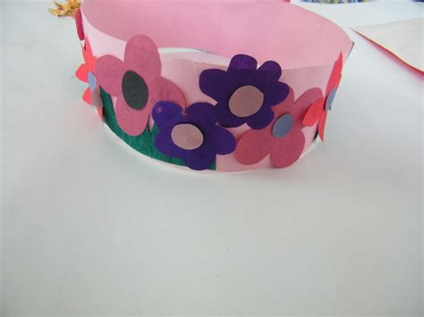 crown crafts for make princess or flowers crown craft for
