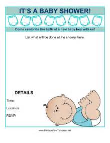 baby shower flyer templates free baby shower flyer boy