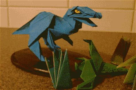 Origami Allosaurus - the origami page