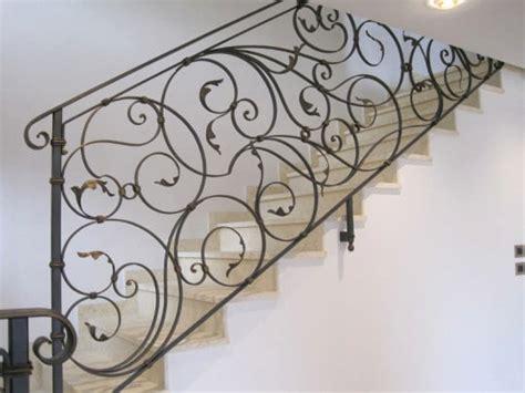 scale interne in ferro battuto ringhiere in ferro battuto per scale interne moderne con