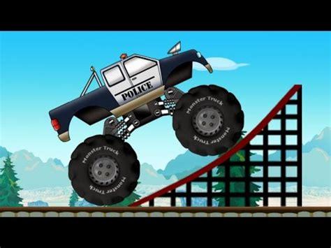 monster truck police monster truck youtube