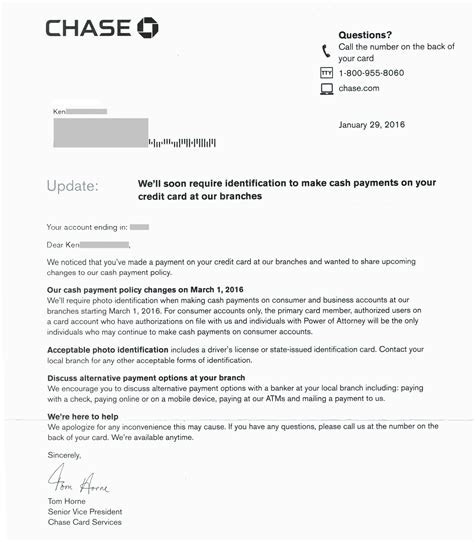 Business Closing Letter To Creditors credit card account letter