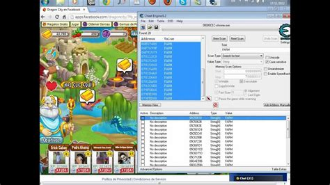 tutorial hack dragon city with cheat engine como hackear dragon city con cheat engine cualkier