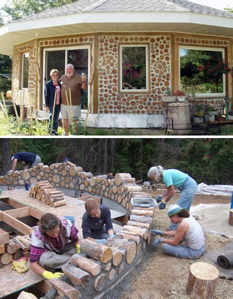 white earth reservation cordwood home cordwood 564 best earthships and hobbit holes images on pinterest