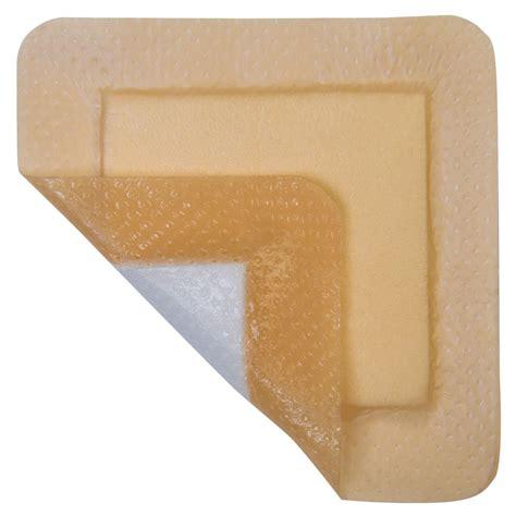 comfort foam mediplus comfort foam silicone adhesive wound dressing