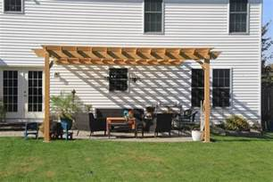 Attaching A Pergola To A House by Beautiful Attached Pergola Connected To A House In