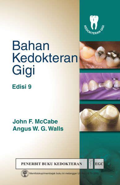 buku kedokteran gigi buku bahan kedokteran gigi ed 9