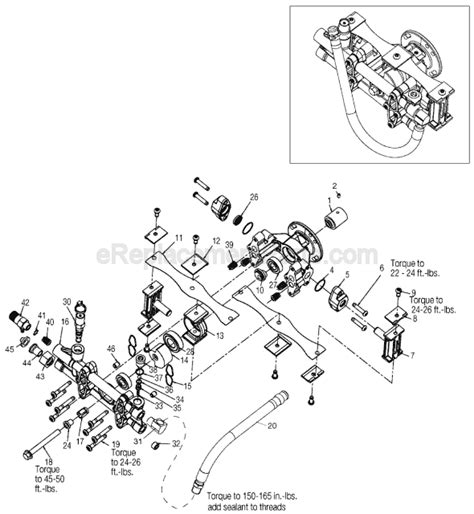 Honda Power Washer Parts Porter Cable Pcv2250 Parts List And Diagram Type 2