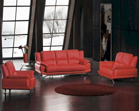 red bonded leather sofa red bonded leather sofa set 44l2818