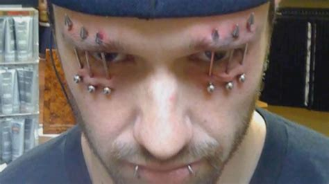 Does Hair Behind Ears Looks Stupid | unglaubliche piercings und k 246 rpermodifikationen so etwas