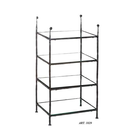 etagere ferro battuto etag 232 re in ferro cv1029