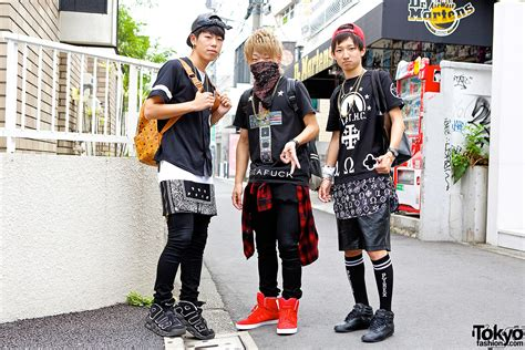Harajuku Guys w/ Bandanas, Crosses & Sneakers in L.A.T.H.C