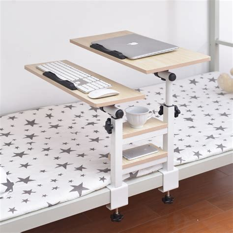 Folding Desk Bed Table Artifact Student Dormitory Bed With A Small Desk Learning Laptop Lazy Folding Bedroom