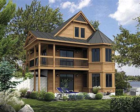 mountain vacation home plans vacation cabin with reading loft 80680pm 1st floor