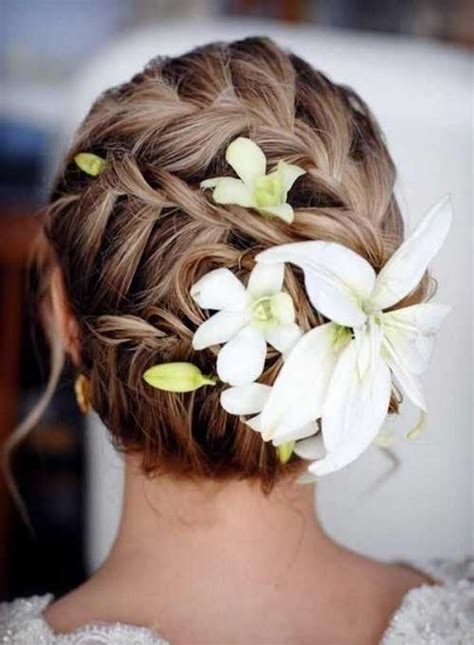 Wedding Updos Braids by 20 Wedding Hairstyles For Hair Hairstyles