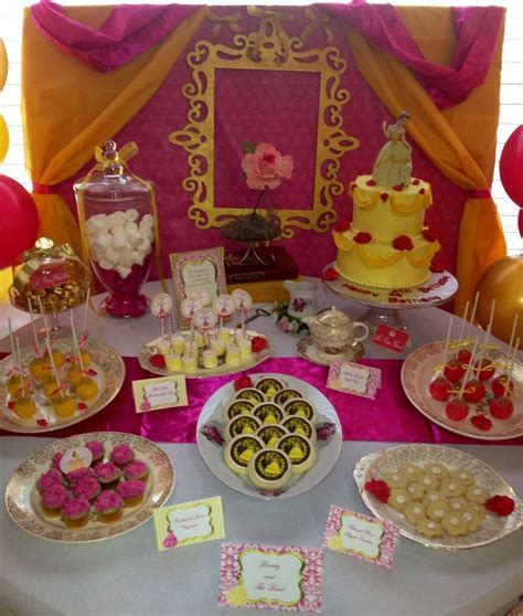 Beauty and the Beast Birthday Party Ideas   Photo 1 of 31   Catch My Party