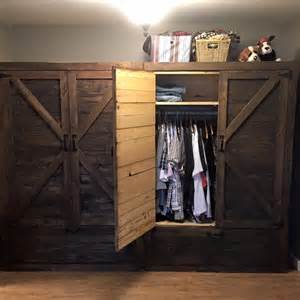A Wardrobe by Pallet Wardrobe With Drawers Pallet Furniture