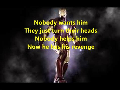 themes man s search for meaning lyrics to iron man theme song youtube