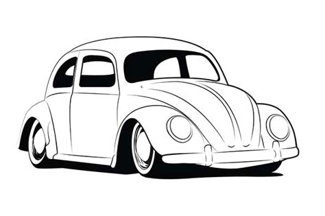 beetle car coloring page vintage beetle car coloring pages vintage beetle car