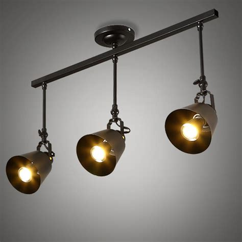Living Lighting Home Decor by Industrial Chandelier Vintage L Ceiling Led Lights For