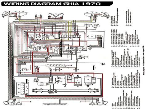 1970 vw beetle light wiring diagram wiring forums