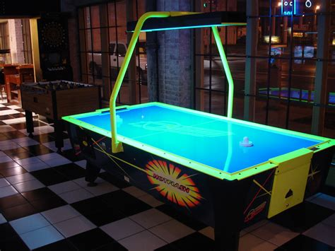 arcade air hockey table roy and his of air hockey terror