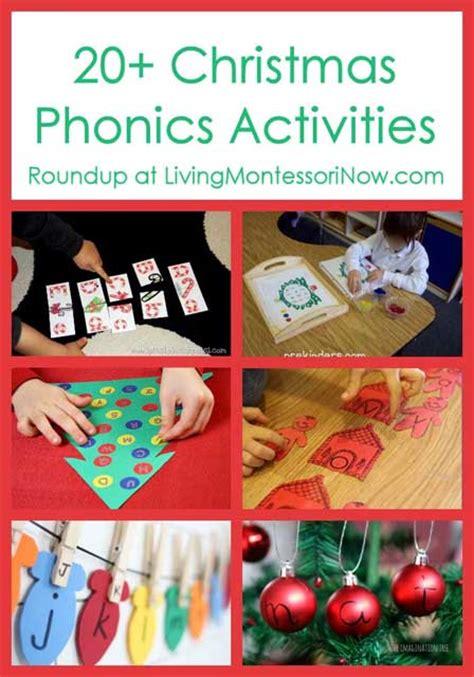 printable christmas phonics games preschool kindergarten christmas learning activities and