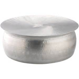 Polished hammered coffee table 16778525 overstock com shopping