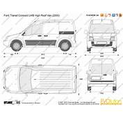 The Blueprintscom  Vector Drawing Ford Transit Connect LWB High