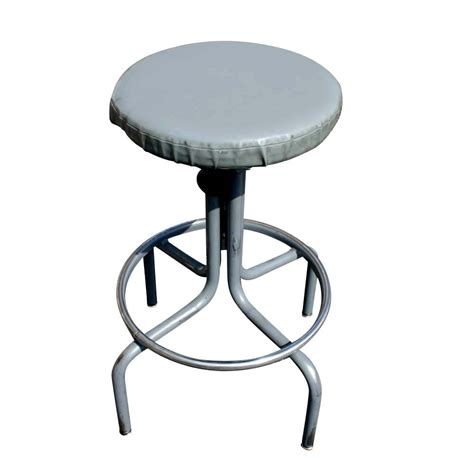Drafters Stool by Vintage Industrial Age Interroyal Drafting Stool Ebay