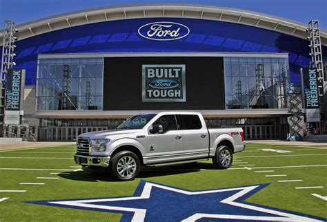 truck dallas ford unveils f 150 dallas cowboys limited edition truck w