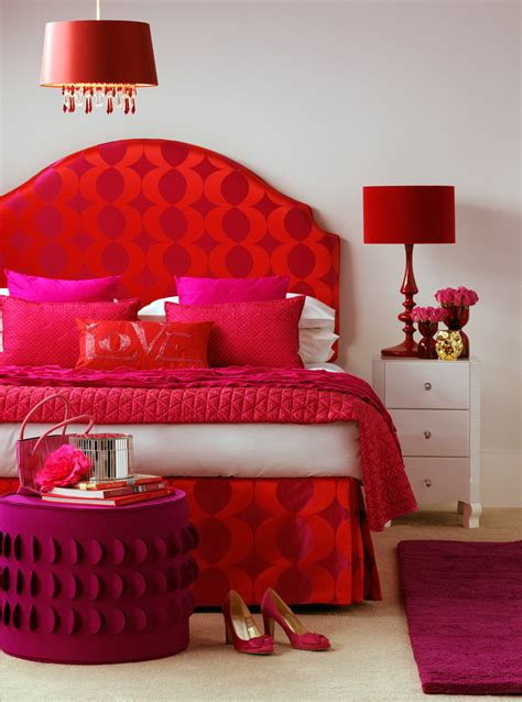 red and purple home decor 20 colors that jive well with red rooms
