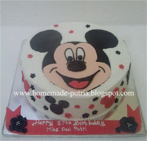Oven Kue 40 Mickey Mouse 4 repeat order 2d mickey mouse cake for mba dwi jogja
