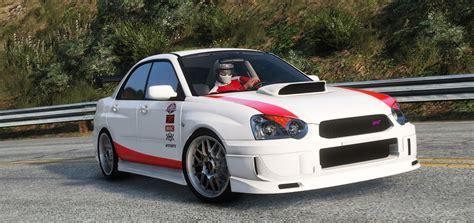2004 subaru wrx modded subaru impreza wrx sti 2004 born to race livery gta5