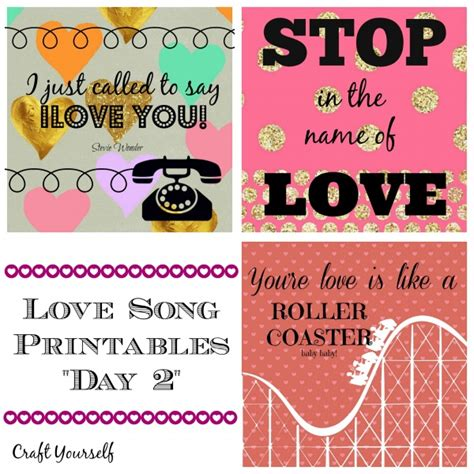 day song free song free printables quot day 2 quot craft