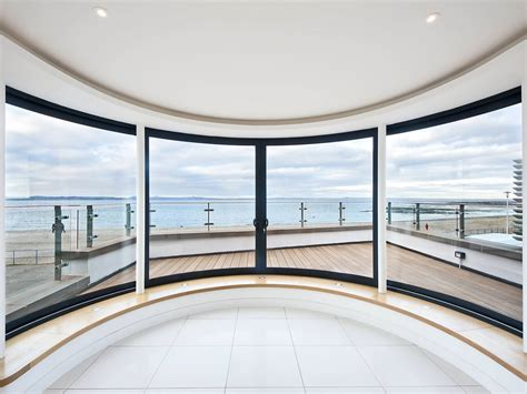 curved windows curved windows thrust for the view at promenade house