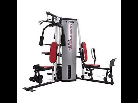 intro to weider 4900