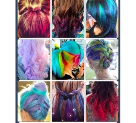 Cool Dyed Hairstyles | cool hairstyles dyed hair and hairstyles on pinterest