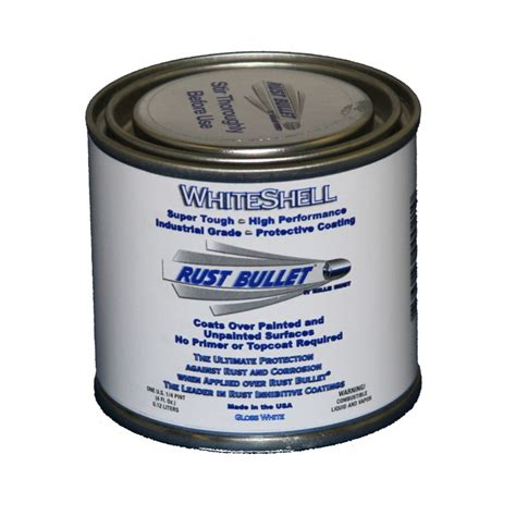 white pint white gloss metal paint industrial rust inhibitive coating