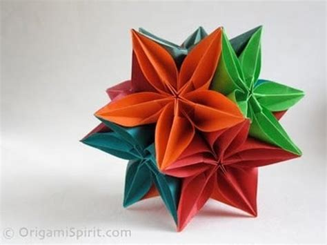carambola origami carambola kusudama