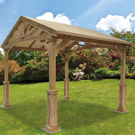 wooden gazebo kits wood pergola kits costco pergola design ideas