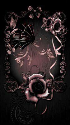 wallpaper iphone rose gold lock screen   iphone